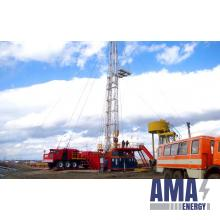 Drilling of the wells