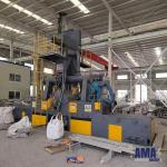 Roller Conveying Steel Wire Mesh belt Shot Blasting Machine