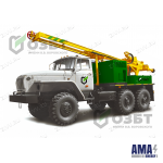 Drilling rig based on ZIL 131 URB-2A2