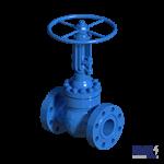 Steel wedge gate valves